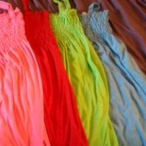 Dresses & Skirts - 4 cotton dresses bundle